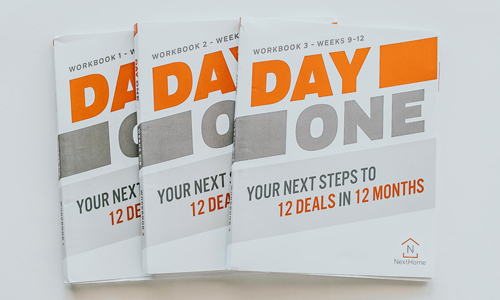Day One Training : Your Next Steps to 12 Deals in 12 Months